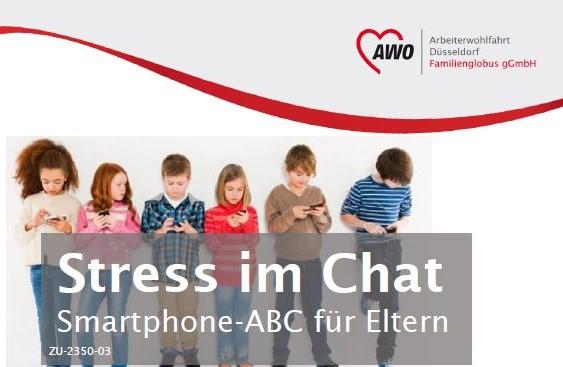 Stress im Chat Smartphone-ABC für Eltern